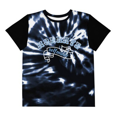 Norraye Black Tye Dye crew neck t-shirt