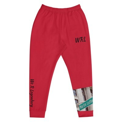 Red WRL New Movement Joggers