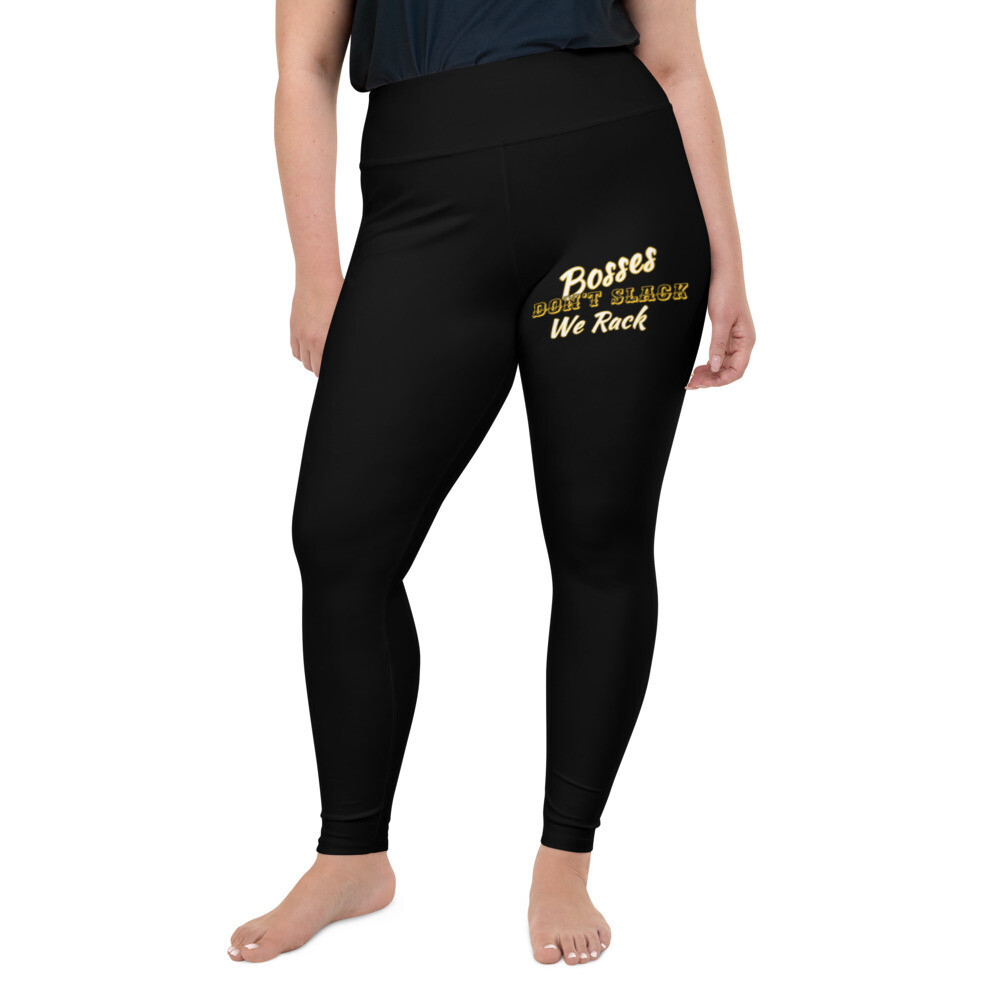 Freestyle black Plus Size Leggings