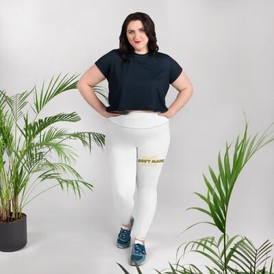 Kj&m Freestyle Slogan Plus Size Leggings