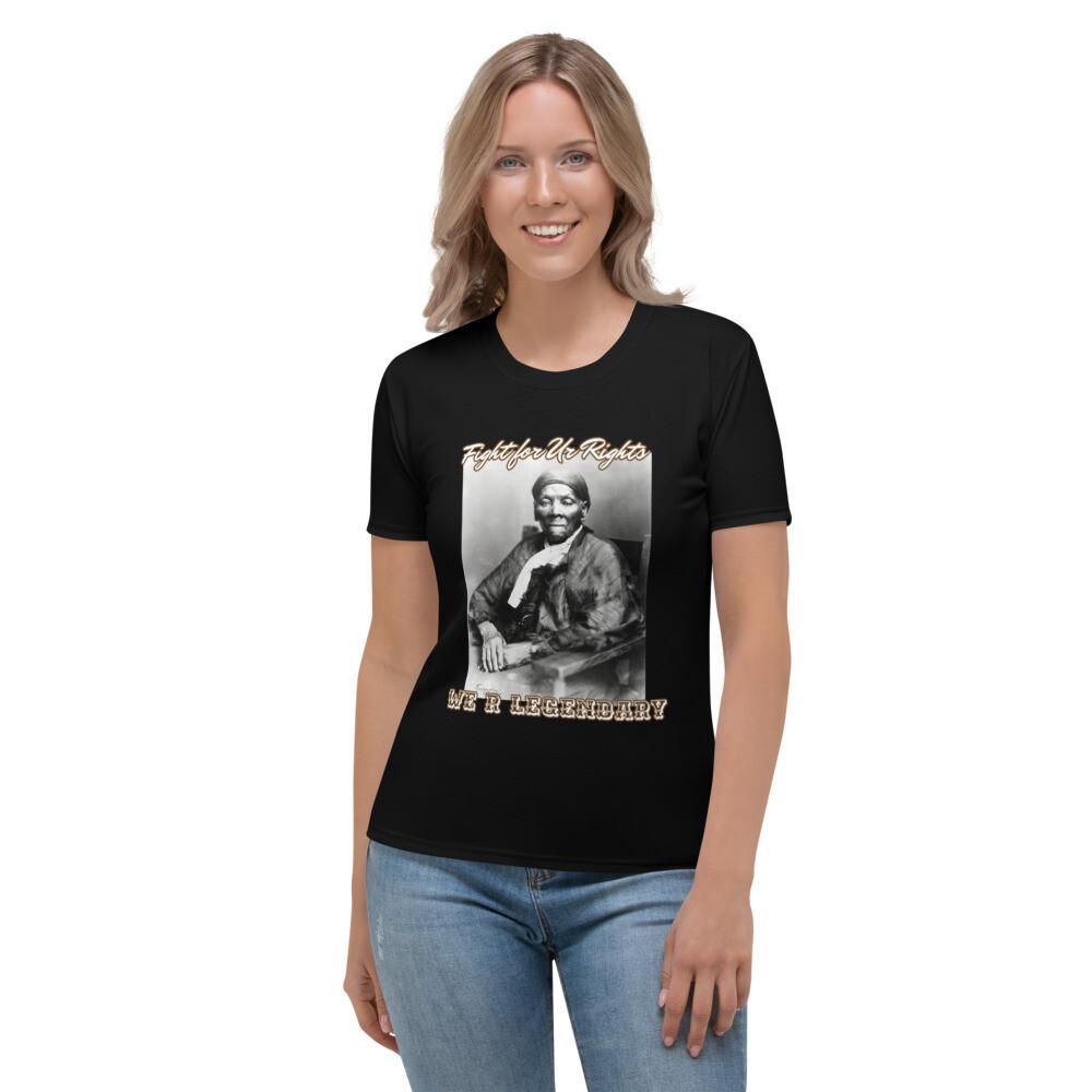 Black WRL Slogan T-shirt