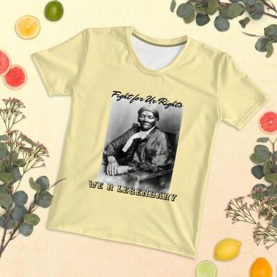 Yellow We R Legendary Slogan T-shirt