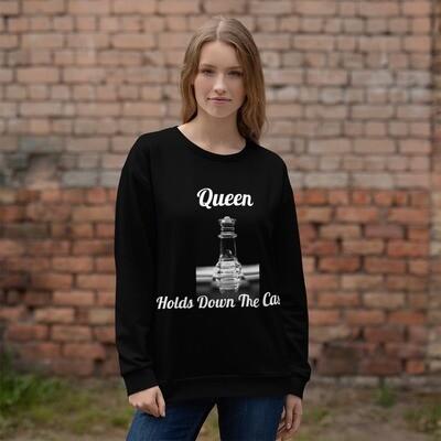 Queen's Black Sweatshirt
