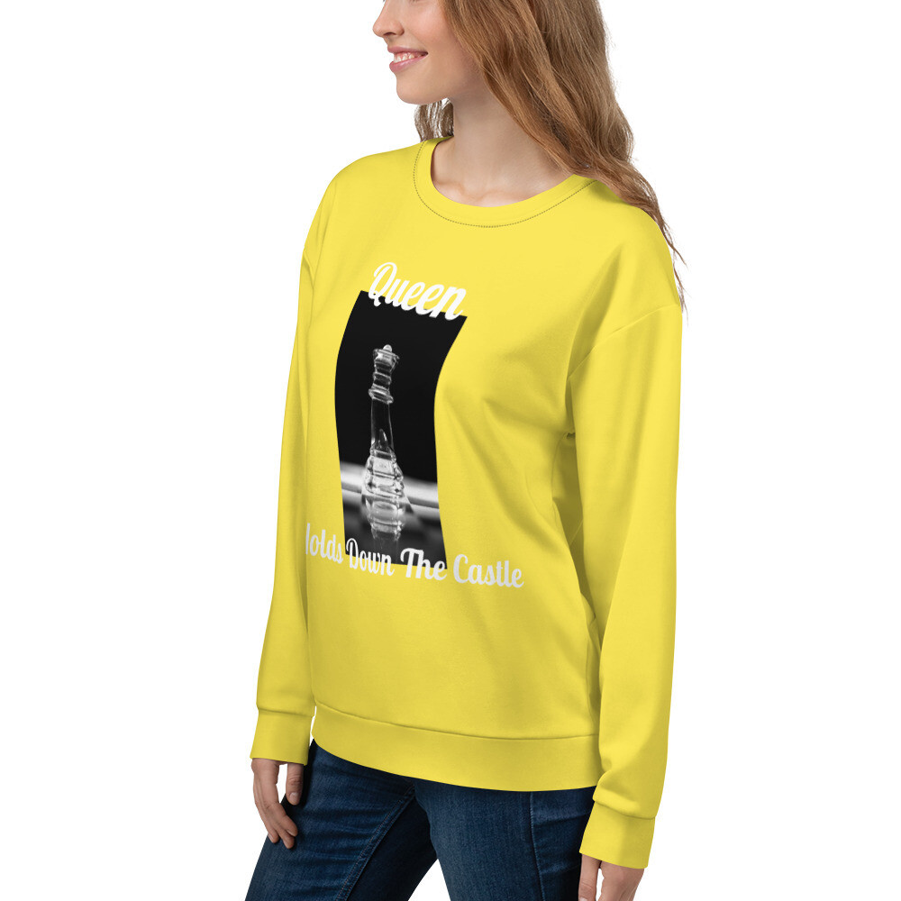 Yellow Queens Sweatshirt