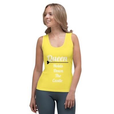 Yellow Queen Tank Top