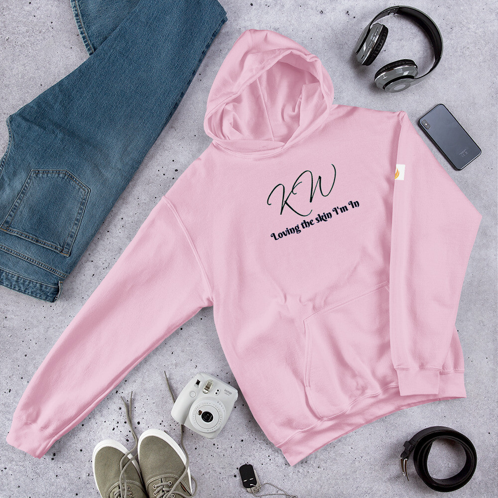 KW Multi-Colored All Purpose Plus Size Hoodie