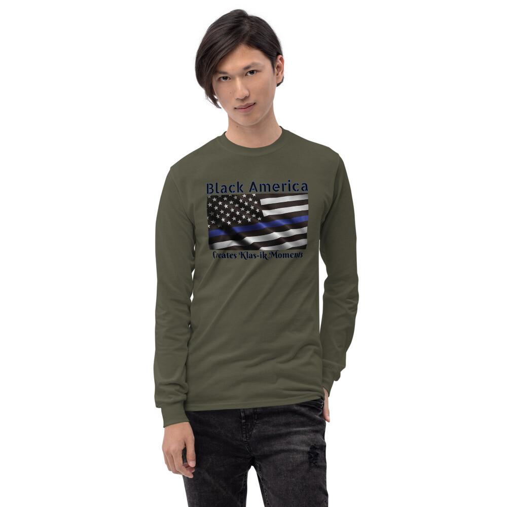Kj&m Apparel Men's Long Sleeve Shirt