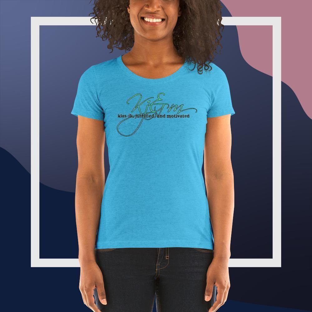 Kj&m Apparel Ladies' short sleeve t-shirt
