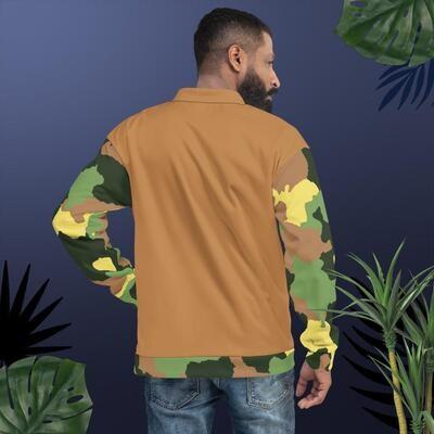 Kj&m Apparel Camo Bomber Jacket