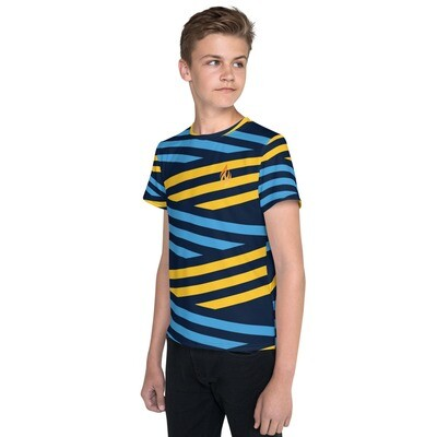 KW Flame Youth Boy Crew Neck T-shirt