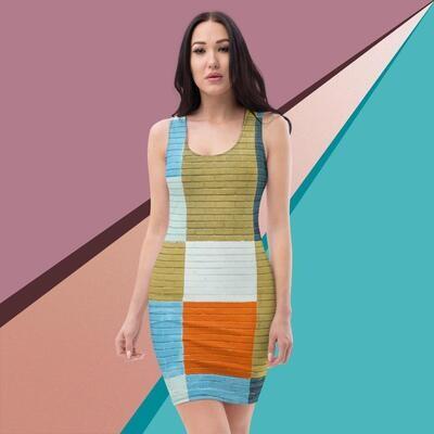 Printed Klas-ik Wear Cut & Sew Dress