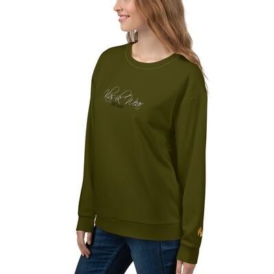 Money Green Klas-ik Wear Women's Plus Size Sweatshirt