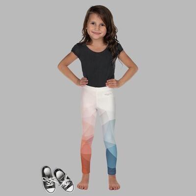 Colorful Printed Kid's Klas-ik Wear Leggings
