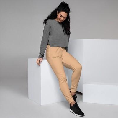 Women's Soft Cream Colored Klas-ik Wear Joggers