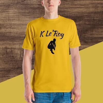 Gold Young Men's T-shirt