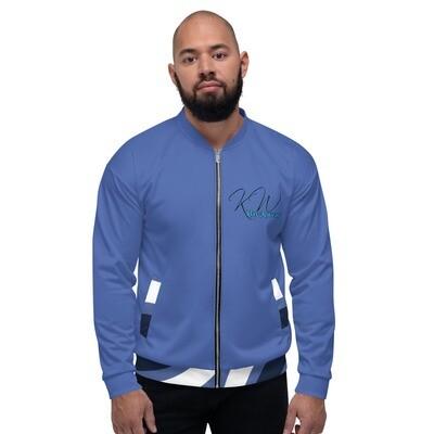 Blue KW Male Bomber Jacket