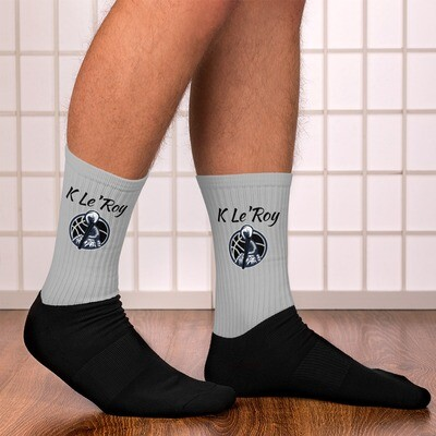 Silver K Le'Roy Socks
