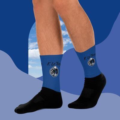 Royal Blue K Le'Roy Socks