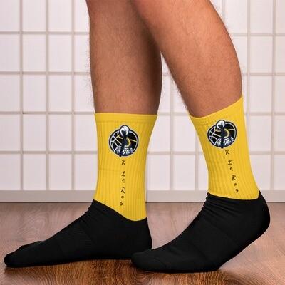 Gold K Le'Roy Sports Socks