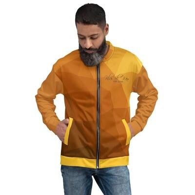 Klas-ik Wear  Brownish Gold Men's Bomber Jacket