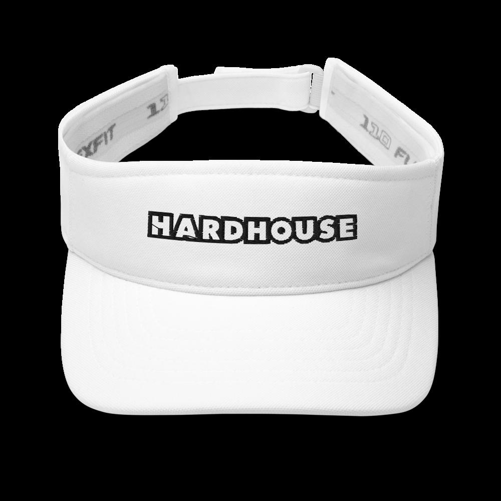 Hard House Visor - White