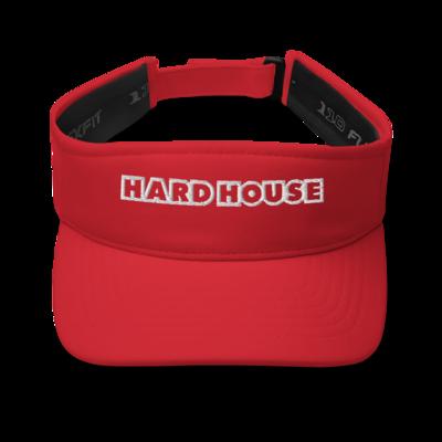 Hard House Visor - Red