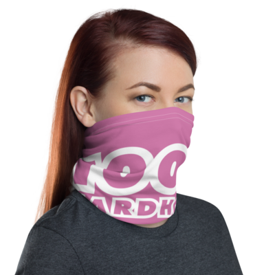 100% HH Face Covering - Pink/White
