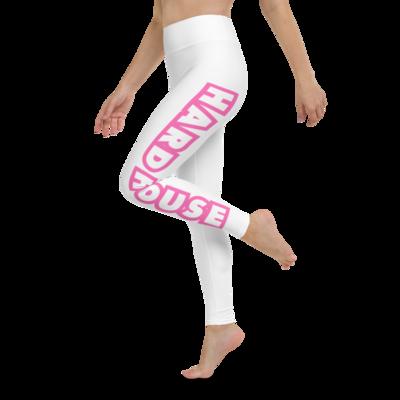 HH Women's Leggings - White/Pink