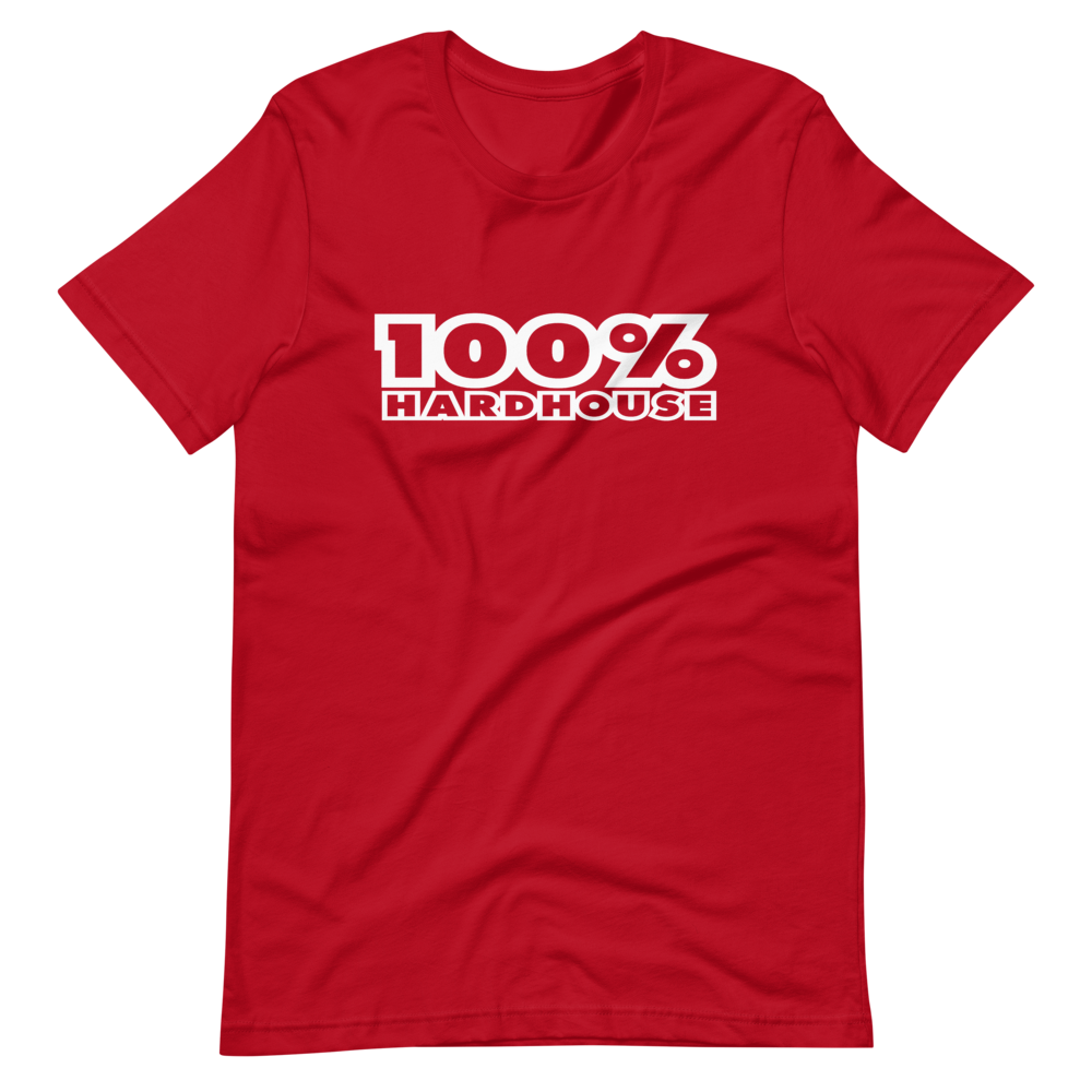 100% HH Mens T-Shirt - Red