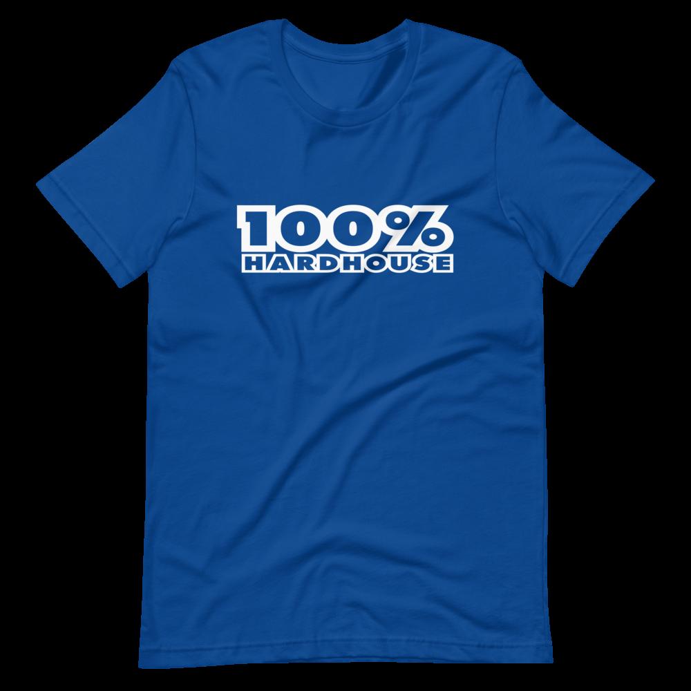 100% HH Mens T-Shirt - Royal Blue