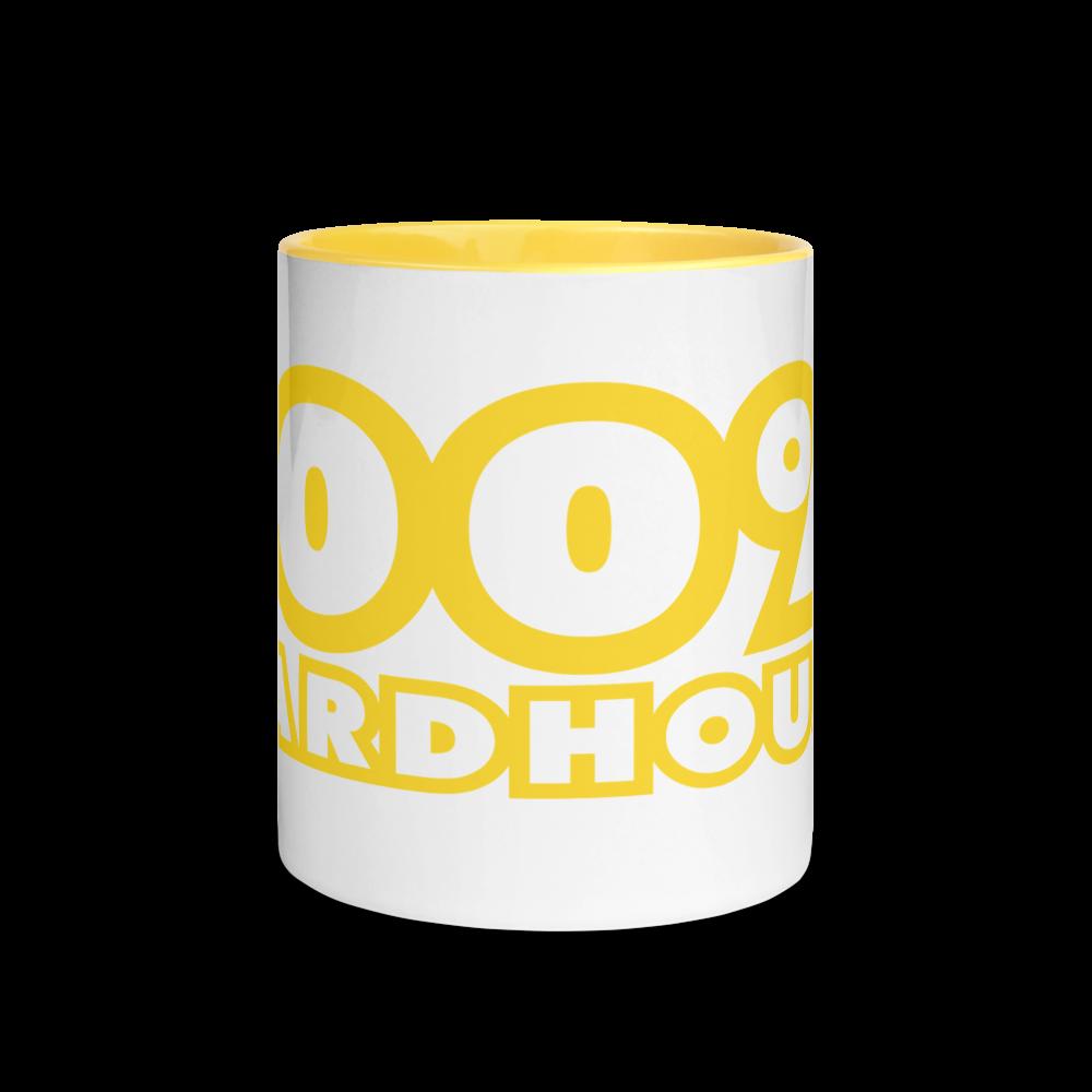 100% HH Mug with Yellow Color Inside