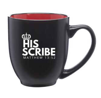 HIS SCRIBE™ Exclusive Two-Tone Ceramic Mug