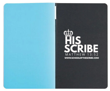 "HIS SCRIBE Exclusive 5"" x 8"" Note Taking Book"