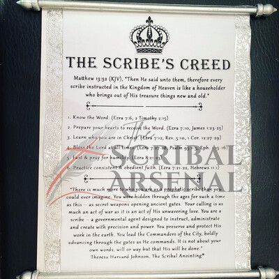 The Scribe's Creed