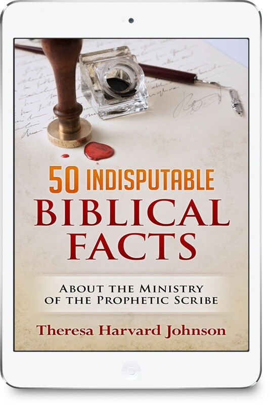 50 Indisputable Biblical Facts About The Ministry of the Prophetic Scribe [E-book]