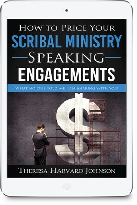 How To Price Your Scribal Ministry Speaking Engagements [Ebook]
