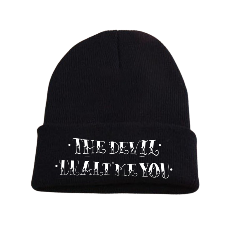 The Devil Dealt Me You Embroidered Beanie