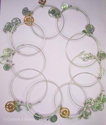 Gaia Goddess Charm Bracelet