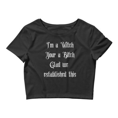 Witchy Crop Top