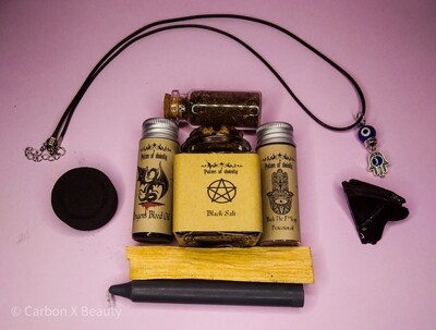 Back the f**k up Protection Spell kit