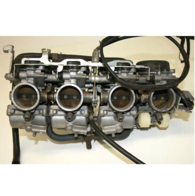 Four-Pack Carburetor Cleaning
