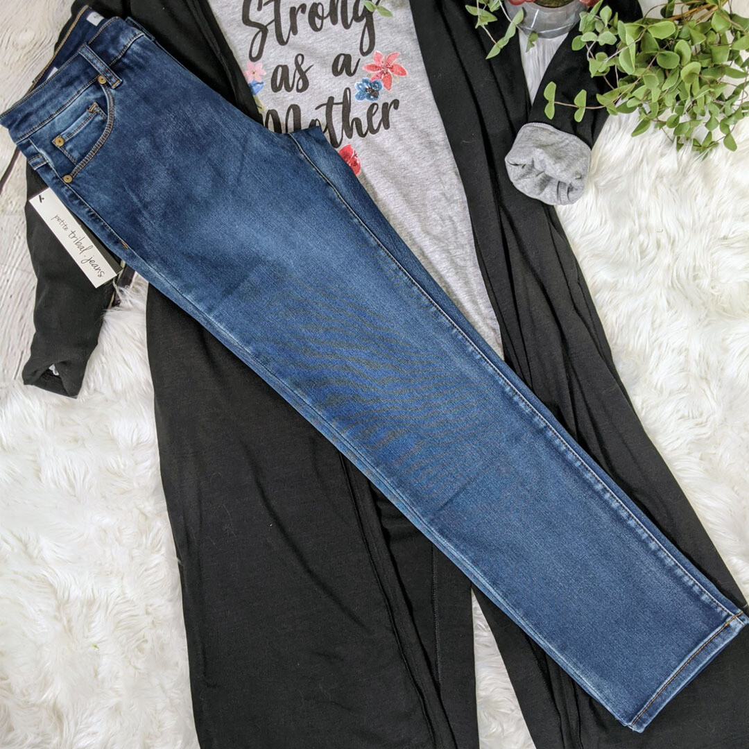 Straight Leg Jeans by Tribal