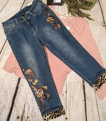 Joss Crop Jean by Slimsation