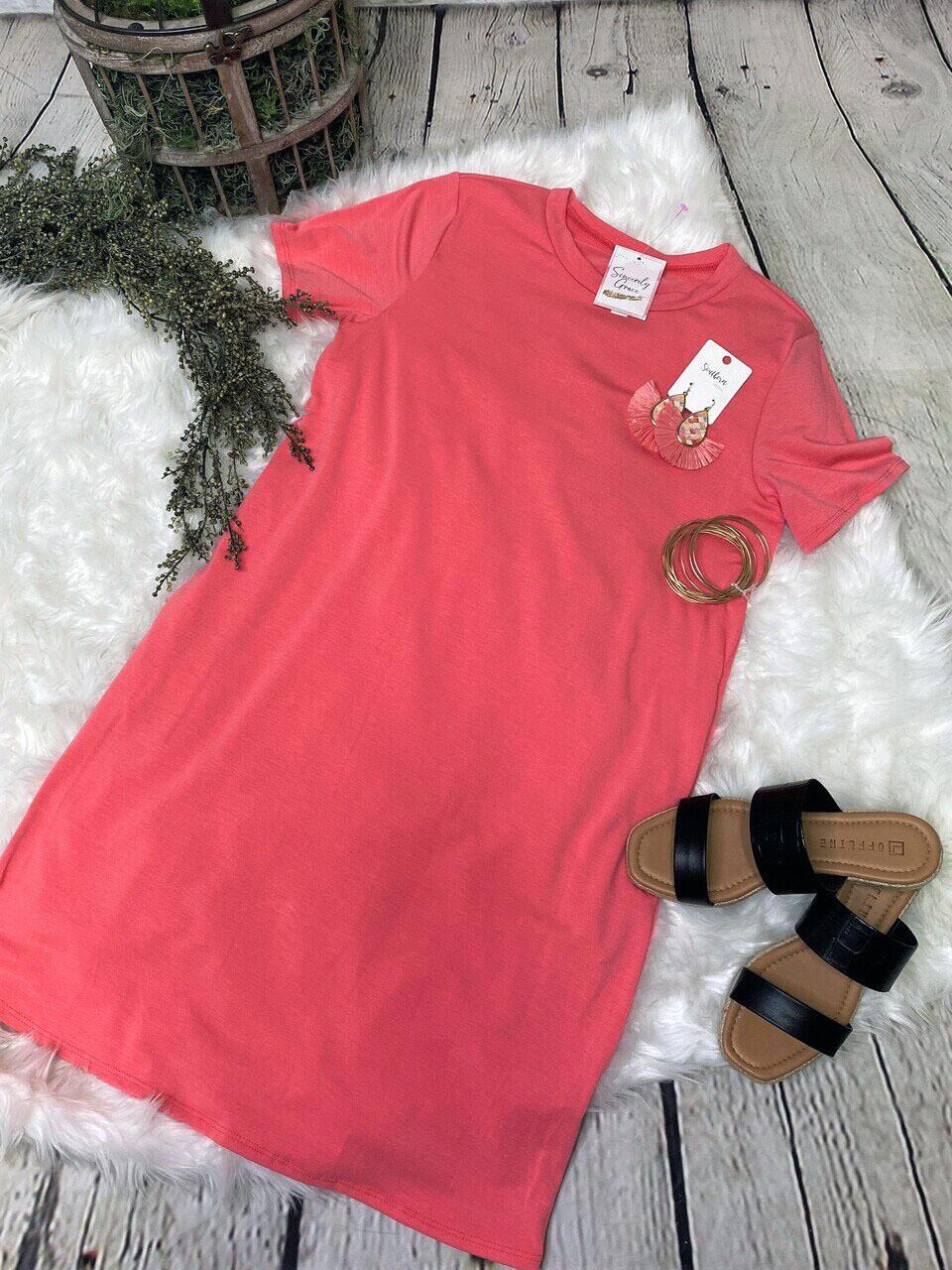 Suri T-Shirt Dress with pockets