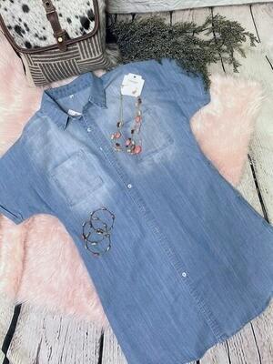 Evie Denim Dress