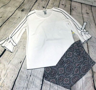 Vienna 3/4 Sleeve Blouse by Multiples