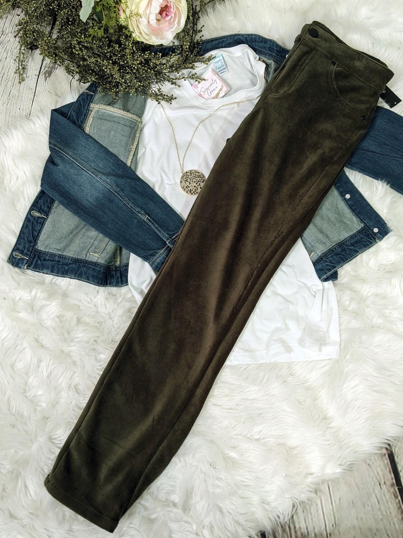 Lauren Slant Pocket Corduroy Pant
