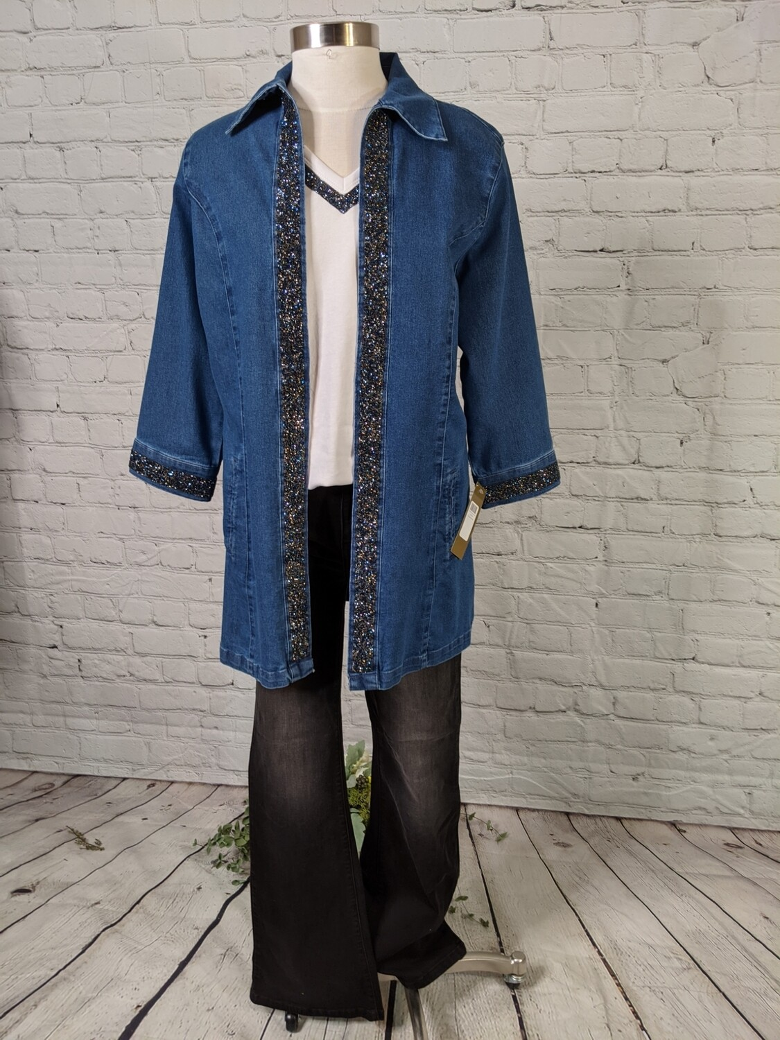 Gloria Blue Diamond Jacket