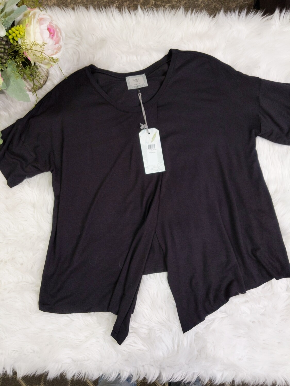 Vale Front Pleat Top