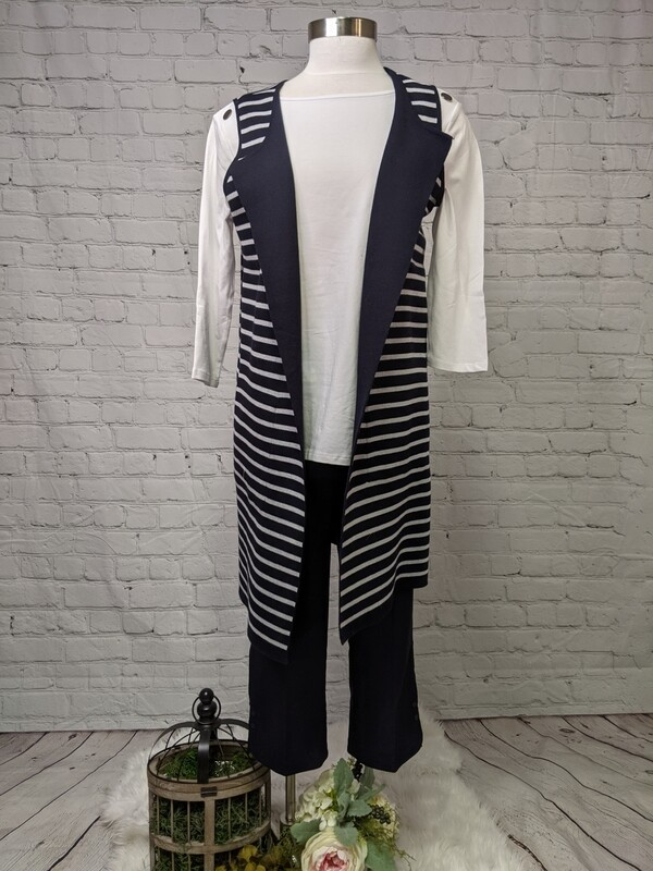 Val Long Vest by Tribal